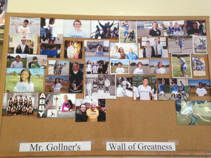 Gollner's Wall of Greatness